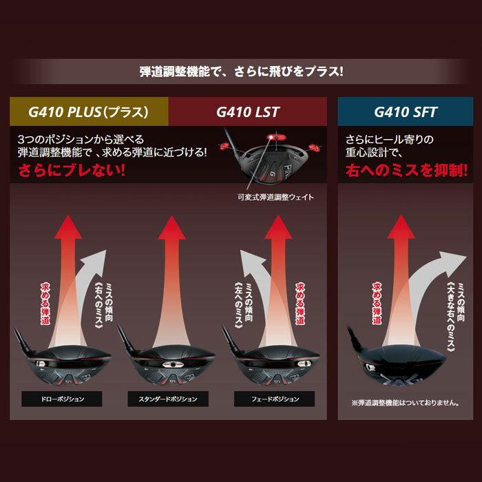 【左右選択可】PING ピン G410 LST ドライバー N.S.PRO Regio Formula B 日本正規品 ping g410 DR LS TEC