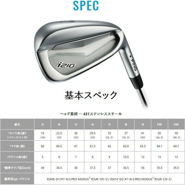 ピン i210 PING i210 アイアン I210 ping Dynamic Gold 120 6~PW (5本セット) 日本正規品【左右選択可】 ピン i210 PING i210 アイアン I210 ping
