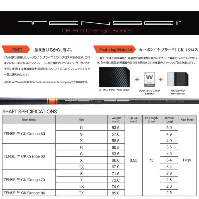 【左右選択可】PING ピン G410 PLUS ドライバー TENSEI CK PRO ORANGE 日本正規品 ping g410 DR プラス