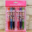 東京ディズニーリゾート ディズニー ミニーマウス ミニー フリクション ボールペン6本セット インク:6色 0.5mm TDR ディズニーランド ディズニーシー 文具 ステーショナリー パイロット おみやげ お土産