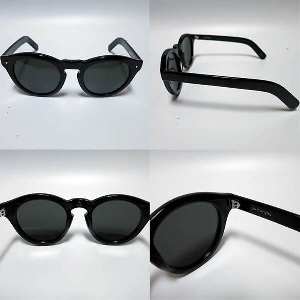 ASHBURY【アシュベリー】ASHBURYサングラスVACATION(バケーション)(BLACK)サングラス、スケート、サーフ、偏光レンズ