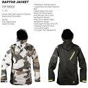 【平日12時までなら即日発送!】NEFF(ネフ)RAPTOR JACKET ウェア メンズ スノーボード サイズL