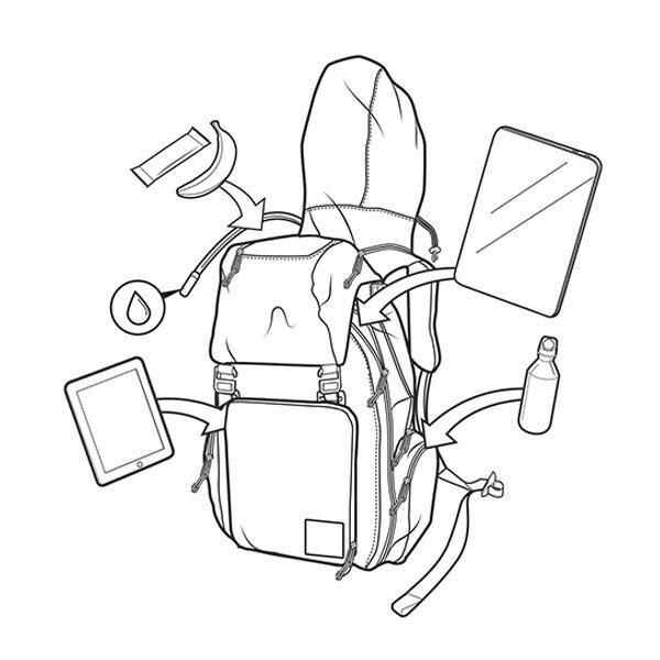 【12時までなら即日発送!】【あす楽】BURTON(バートン)HCSCSHREDSCOUTPACK[26L]スノボMENSカバンデイパックスノーボードバッグ小物メンズバッグリュック・デイパック