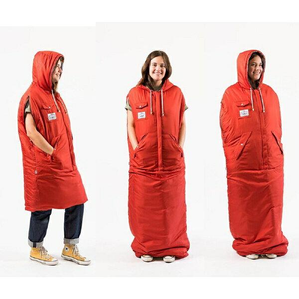【12時までなら即日発送!】【あす楽】POLERCAMPINGSTUFF(ポーラー)THEREVERSIBLENAPSACKBIRDYPRINT寝袋シュラフオーバーサイズ防寒着キャンプテントフェス