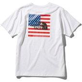 THENORTHFACE(ザノースフェイス)NT32053S/SNATIONALFLAGTEEショートスリーブナショナルフラッグティーバックプリント半袖Tシャツ