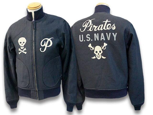 メンズファッション, コート・ジャケット FREE WHEELERS2020FWU.S.NAVY PiratesDECK JACKETU.S.(2021023)(WOLF PACK)