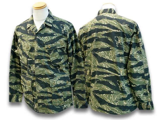 メンズファッション, コート・ジャケット FREE WHEELERS2021SSTropical JacketJUNGLE FATIGUES(2121015)(WOLF PACK)