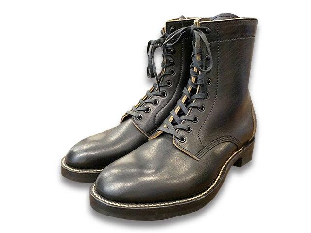 """【Duoford/デュオフォード】「7inch Lace Up Boots""""BECK""""/7インチレースアップブーツ""""ベック """"」(DF-002)【予約商品】(アメカジ/Makers/メイカーズ/FINE CREEK LEATHERS/ファインクリークレザース/WOLF PACK/ウルフパック/ハーレー/ホットロッド)画像"""