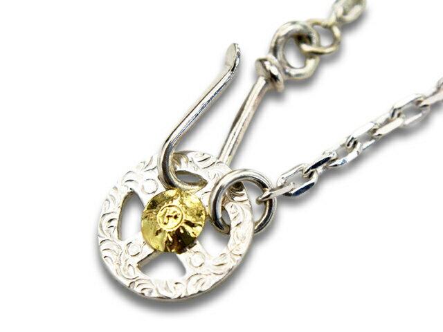 メンズジュエリー・アクセサリー, ネックレスチェーン FIRST ARROWsMedium Necklace Chain with Medicine Wheel with K18K18(O-062P-077B50cm)()