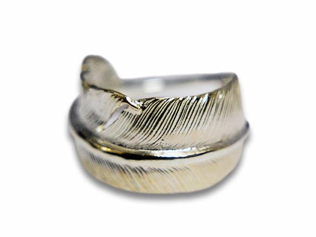 メンズジュエリー・アクセサリー, 指輪・リング FIRST ARROWsLarge Feather Ring(R-015)()