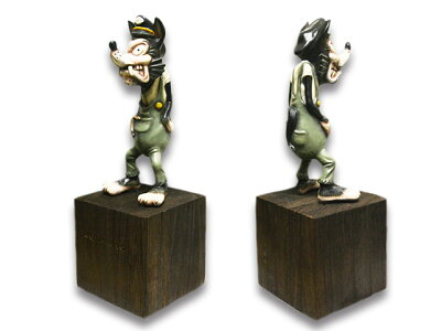 """【WOLFPACK/ウルフパック】×【RMODELS/アールモデルス】「WolfFigure""""FullColor""""/ウルフフィギュア""""フルカラー""""」【送料・代引き手数料無料】【あす楽対応】(LuckyRudy/ラッキールーディー/ハーレー/バイカー/バイク/アメカジ/プレゼント)"""