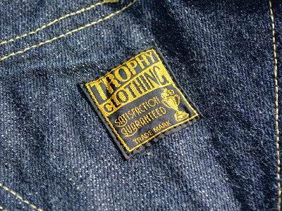 【TROPHYCLOTHING/トロフィークロージング】「CarpenterOveralls/カーペンターオーバーオール」(1603)【送料・代引き手数料無料】【あす楽対応】(アメカジ/ハーレー/バイク)