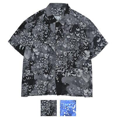 トップス, カジュアルシャツ  Porter Classic HEART ALOHA SHIRT PC-024-1319
