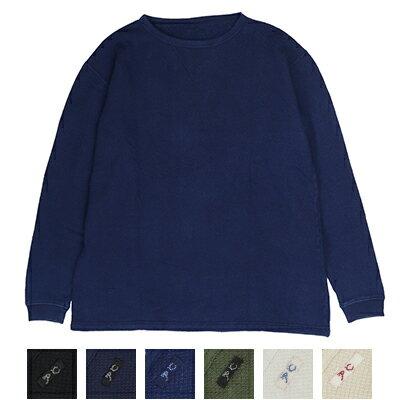 トップス, Tシャツ・カットソー  Porter Classic FRENCH THERMAL CREWNECK PC-034-1472