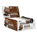プロテインウエハース チョコレートクリーム 42g 9本 Optimum Nutrition(オプティマムニュートリション)おやつ チョコレート プロテインフード ダイエット 置き換え