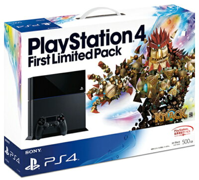 【お1人様1台限り】【新品】【PS4】PlayStation4FirstLimited Pack[CUHJ-10000]【4948872448857】