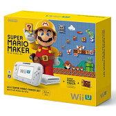 【中古】afb【本体箱説有り】WiiU本体 スーパーマリオメーカー セット【4902370530391】