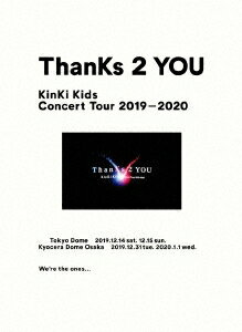 アイドル, アイドル名・か行 KinKi KidsKinKi Kids Concert Tour 2019-2020 ThanKs 2 YOUDVDDVD )Z-997720201111