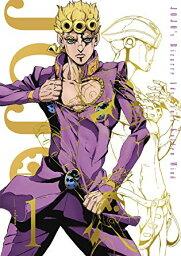 ◆◆TVアニメ/ジョジョの奇妙な冒険 黄金の風 Vol.1<Blu-ray>20181219