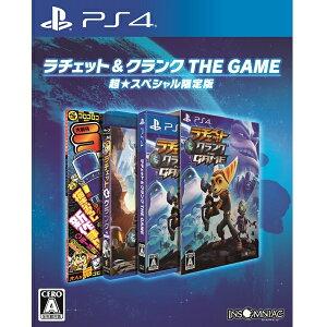 ラチェット&クランク THE GAME<PS4>(超★スペシャル限定版)20160809