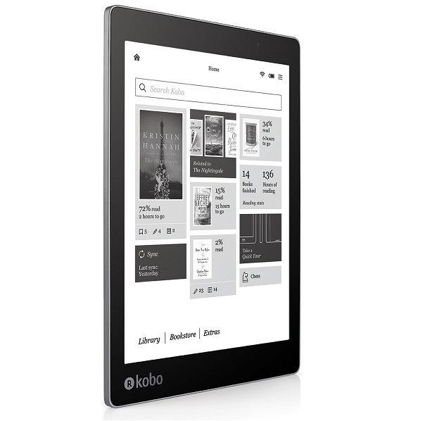 スマートフォン・タブレット, 電子書籍リーダー本体 Kobo Aura ONE BlackN709-KJ-BK-S-EPZ-8897