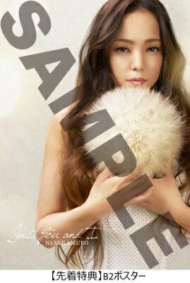 【先着特典付】安室奈美恵/JustYouandI<CD>[Z-6107]20170531