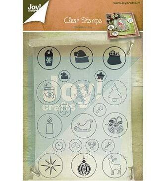 6410-0126/Joy! Crafts/ジョイ・クラフツ/クリアスタンプ/Christmas
