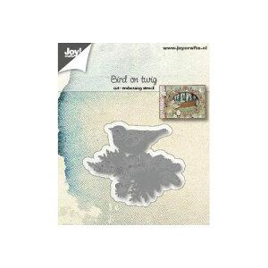 6002-1182/ジョイ・クラフツ/ダイ(抜型)/Bird on twig 枝に小鳥