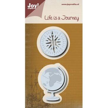 ☆50%OFF SUPER SALE☆6002-0504/Joy! Crafts/ジョイ・クラフツ/ダイ(抜型)/Aardbol kompas 地球儀 コンパス