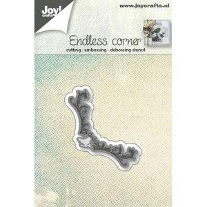 6002-0574/ジョイ・クラフツ/ダイ(抜型)/endless corner with bird コーナー モチーフ