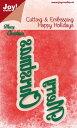 オランダ Joy!Crafts【6002-2027】Joy!crafts Happy Holidays/スクラップブッキング/ホビーク...