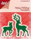オランダ Joy!Crafts【6002-2029】Joy!crafts Happy Holidays Reindeers/スクラップブッキング...