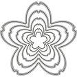 【175】WonderHouse/ワンダーハウス/ダイ/桜 サクラ レイヤー スクラップブッキング ダイカット ペーパー クラフト ハンドメイド カード作り アルバム作り