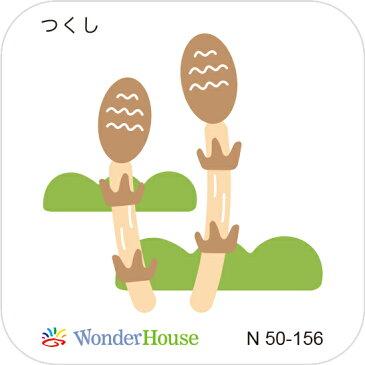 N50-156/ワンダーハウス/ダイ(抜型)/horsetail つくし ツクシ 土筆