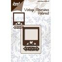 【6003-0068】Joy! Crafts/ジョイ・クラフツ/ダイ/Poloroid ポラロイドカメラ スクラップブッキング ダイカット ペーパー クラフト ハンドメイド カード作り アルバム作り