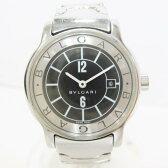 時計 ブルガリ BVLGARI ソロテンポ クォーツ ST29S ブラック ★送料無料★【中古】【あす楽】