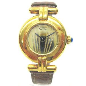 時計カルティエCartier時計マストコリゼヴェルメイユ★送料無料★【】【】