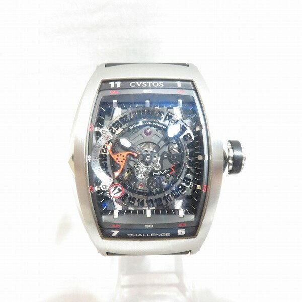CVSTOS CHALLENGE HM-S ブラック 自動巻き 時計 腕時計 メンズ ★送料無料★【中古】【あす楽】