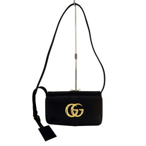 [Good Condition] GUCCI Alice Small Shoulder Bag 550129-498879 Leather, Black [Shoulder Bag] [Diagonal] [Women's ○] [Used] [A Rank] [95]