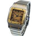 【ABランク】Cartier カルティエ サントス ガルベLM Ref. W20011C4 クオーツ ...