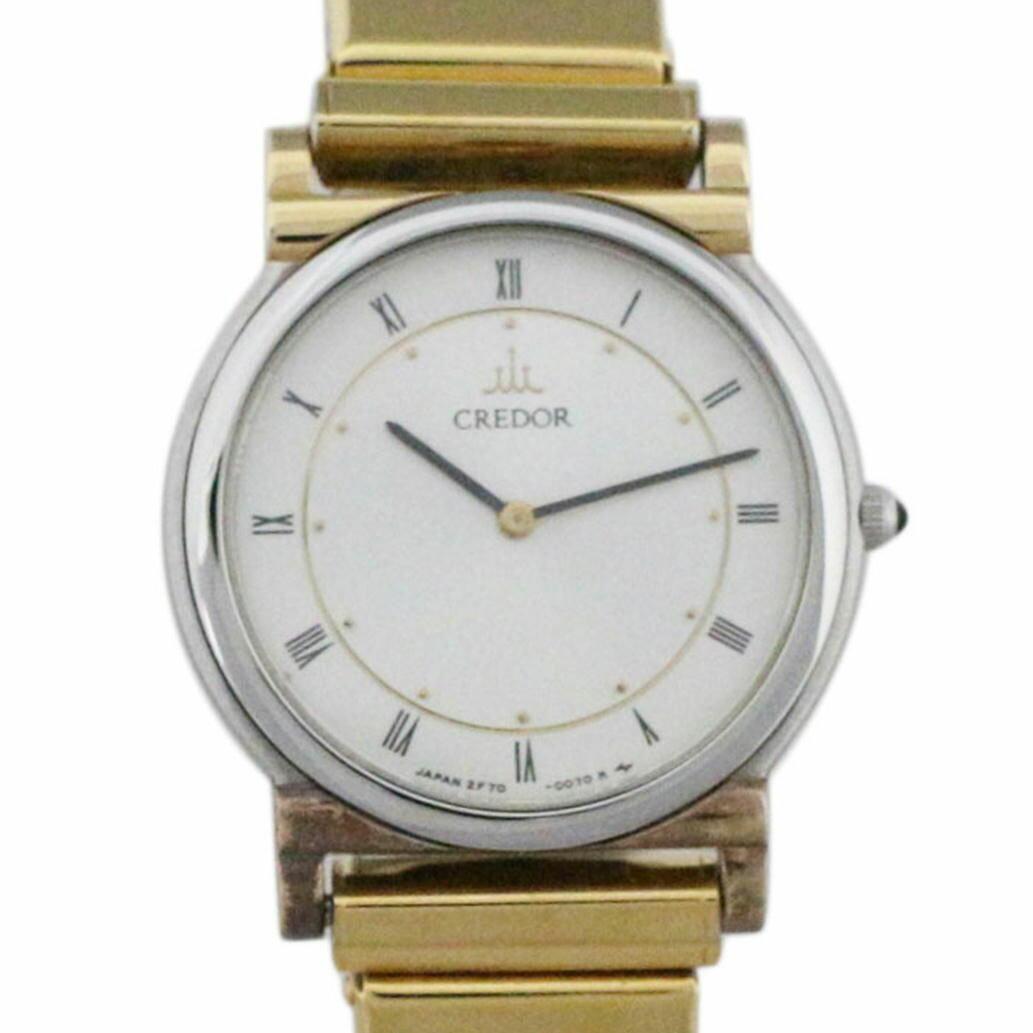 腕時計, レディース腕時計 SEIKO CREDOR Ref. 2F70-0020 3 B63