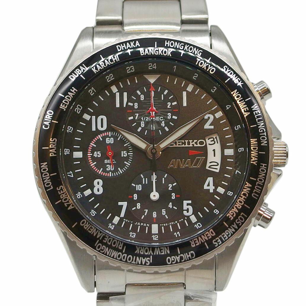 腕時計, メンズ腕時計 SEIKO () ANA Ref. 7T92-0VG0 6 A02