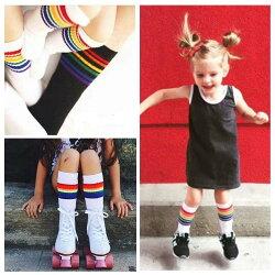 4dc72b8176a2de キッズ子供ソックス靴下ストッキングサッカーソックスキッズ小学生子供子どもフォーマル通学通勤ストライプボーダー