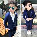 5点セット 男の子 子供服 フォーマル スーツ ベビー服 子供 男の子...