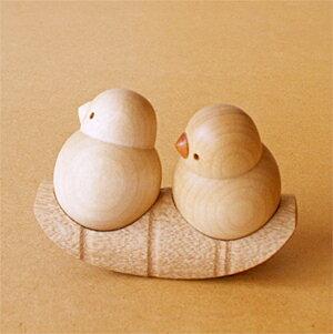 木製 小鳥 夢九鳥(ムクドリ)ゆらゆら ドリーミィーパーソン 旭川クラフト