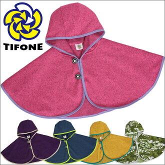 連帽的斗篷 TIFONE 寶寶雨披 PK 羽量級海角孩子斗篷披肩春天雨披斗篷寶寶雨披 TB3fs04gm