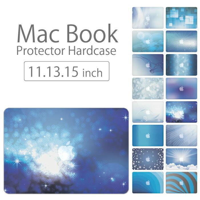 【 MacBook Pro & Air 】【メール便不可】 デザイン シェルカバー シェルケース macbook pro 13 ケース air 11 13 retina display マックブック 海 ブルー sea 青い 青色 深海 水 ウォーター ポッキリ カバン画像