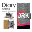 送料無料 手帳型 ケース iPod touch6 Apple アイポッド タッチ アップルWORK 英語 幾何学 柄 模様 蝶々 草 葉 葉っぱ デザイン かっこいい おしゃれ 個性的オススメ グラフィック 斬新 黒 オレンジ 白 ブラック 橙