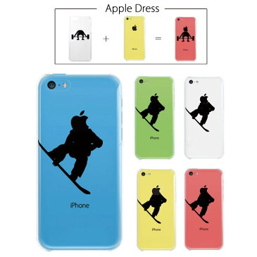 【 iPhone5 C 】 アップル ドレス スキー スキーヤー ウエア 雪山 アルペン サロモン 板 ボード ブーツ スポーツ リンゴマーク iPhone5 アイフォン アイフォーン Apple iPad mini iMac MacBook savi00005c