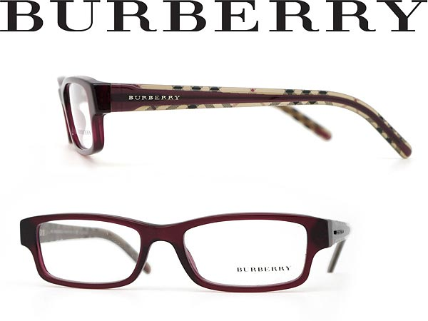 woodnet Rakuten Global Market: Glasses Burberry dark red ...